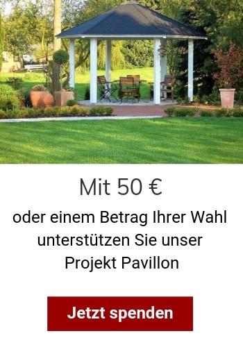 Neues Spendenprojekt: Pavillon - Schloss Bernstorf