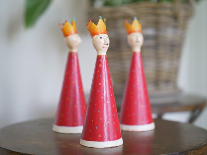 Figuren: Heilige Drei Könige auf Schloss Bernstorf
