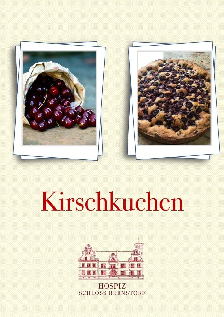 Kirschkuchenrezept Hospiz Schloss Bernstorf